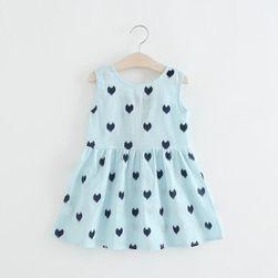 Dívčí šaty 90 - 130