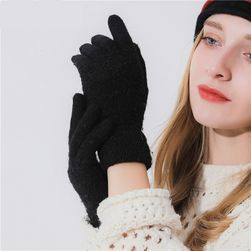 Dámské pletené rukavíce - 6 barev