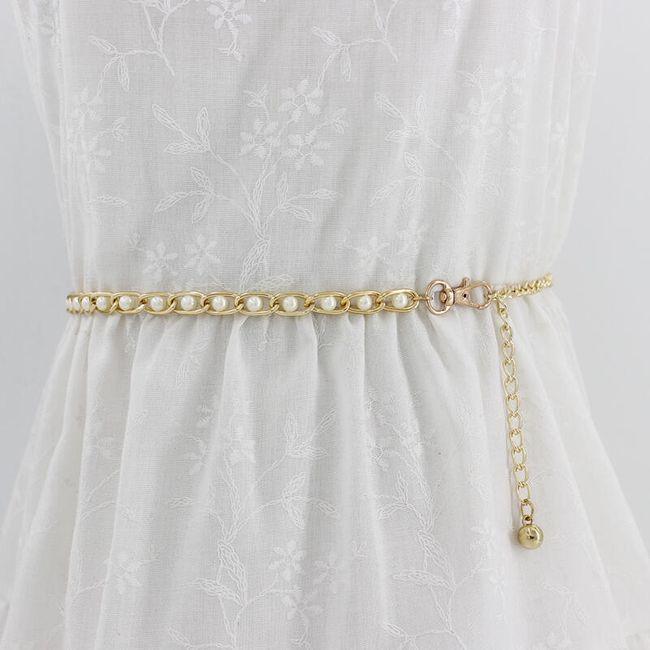 Dekoratív pánt ruha B08140