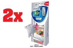 1 + 1 = 4x 25g ODOR ABSORBER  szagelnyelő hűtőszekrényekhez és fagyasztókhoz