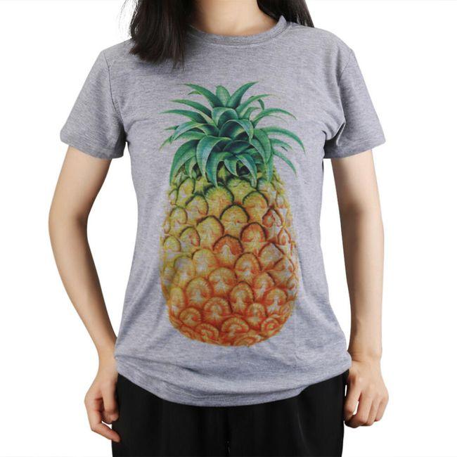 Tričko s ananasem pro ženy 1