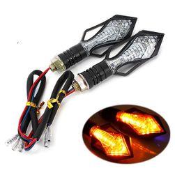 Univerzális LED-es irányjelző motorkerékpárhoz 2db - 13 LED