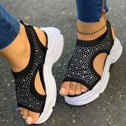 Ženske sandale na platformu Cera