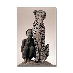 Slika na platnu bez rama - gepard E44