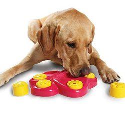 Multifunkční miska pro psy s motivem psích tlapek