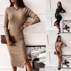 Ženska haljina sa dugim rukavima EA_629532556903