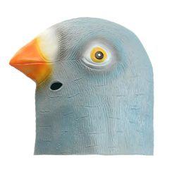 Маска за парти - гълъб
