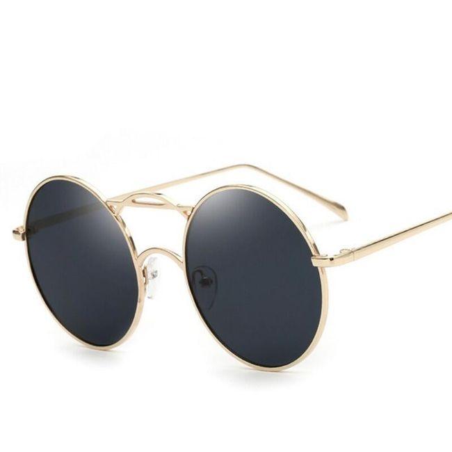 Sluneční brýle s kulatými čočkami 1