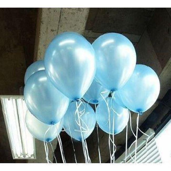 Lesketajoči baloni za napihovanje 100 kosov - več barv 1
