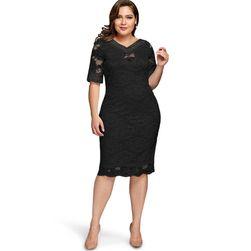 Dámské šaty plus size Sheryll