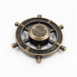 Fidget spinner în design vintage