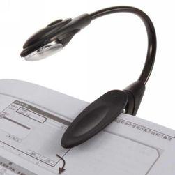 Připínací mini LED lampička na čtení - 3 barvy