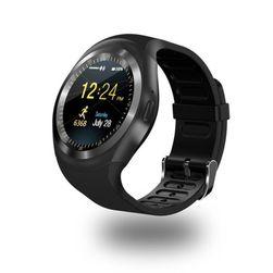 Мультифункциональные смарт часы Vardon- черный цвет+ карта памяти 8 Гб.