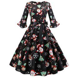 Dámské vánoční šaty Maline