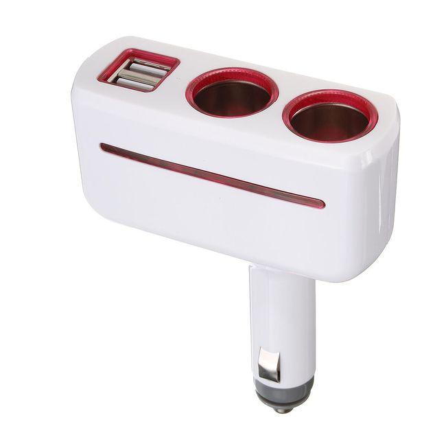 USB nabíječka do zapalování 1