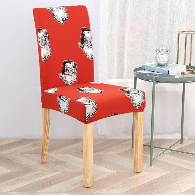 Karácsonyi fedél a székre UKD5 1
