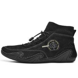 Moški zimski čevlji Pierre Črna - velikost 48