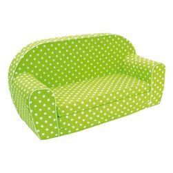 Mini pohovka, zelená LP_53005