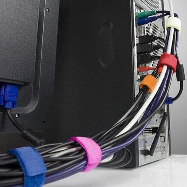 Trakovi za vezanje kablov - 8 kosov 1