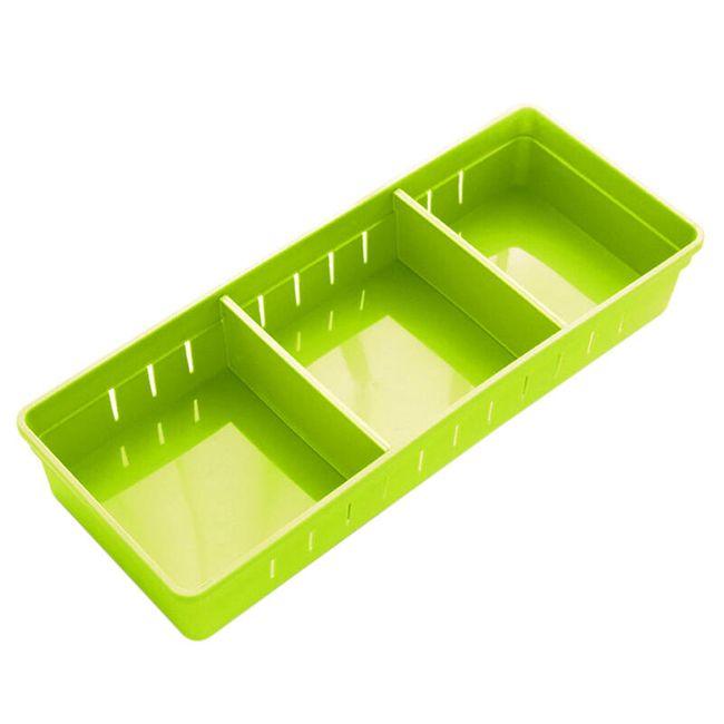 Plastový úložný boxík - 4 barvy 1
