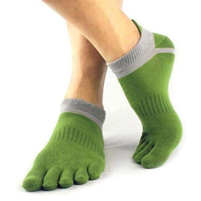 Pánské prstové ponožky - 6 barev 1