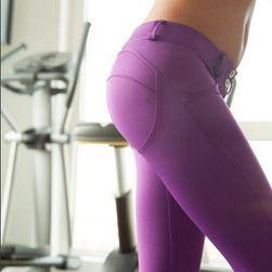 Elegantní push up kalhoty