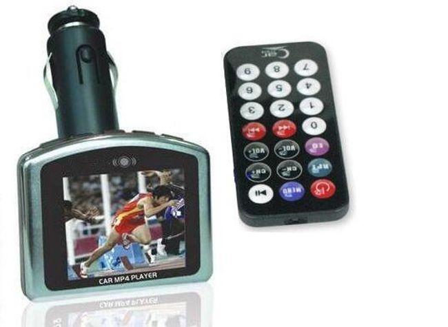 MP3/MP4 FM transmitter s pamětí 4GB 1