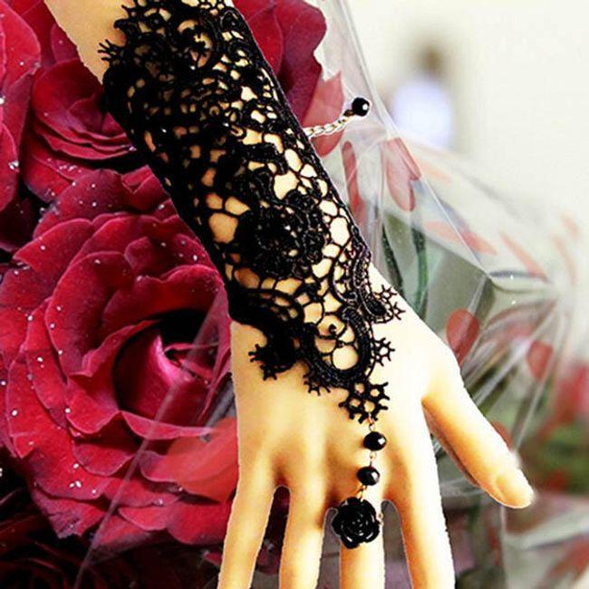 Дантелена ръкавичка 1