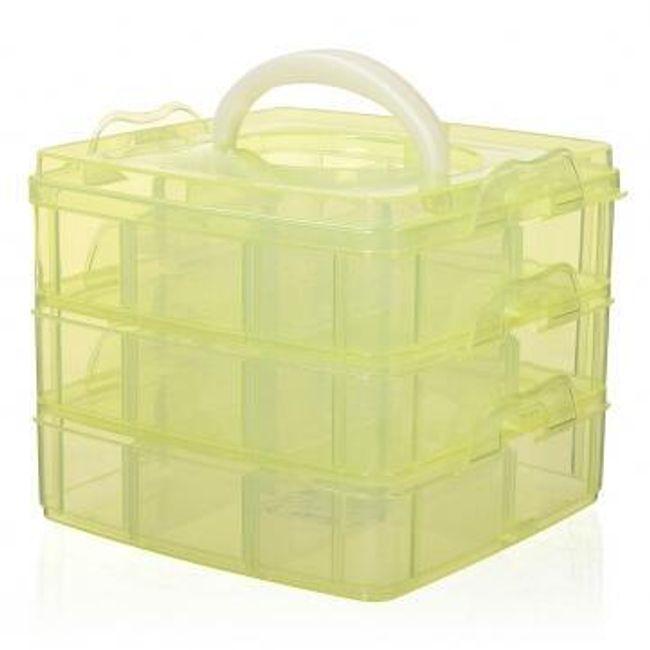 Multifunkční úložný box pro kosmetické doplňky 1