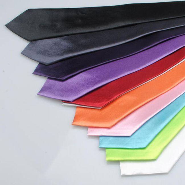 Pánská saténová kravata - na výběr ze 3 barev 1