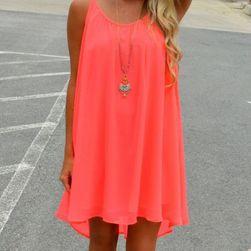 Красива летна рокля за дами - 2 цвята