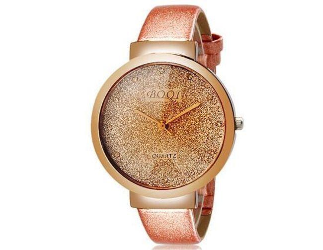 Zegarek z błyszczącą tarczą 1
