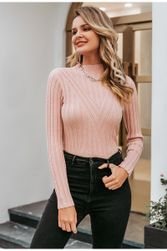 Дамский свитер с длинными рукавами DS568