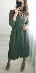 Ženska haljina sa dugačkim rukavima Jenifer