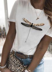 Women's Linen T-shirt DT478