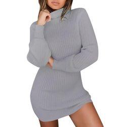 Dlouhý svetr s rolákem
