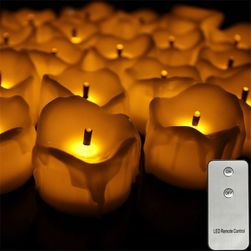 LED sveče na daljinsko vodenje NF13