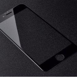 Sticlă protecție pentru iPhone 6, 6S, 6 plus - culoare alb-negru