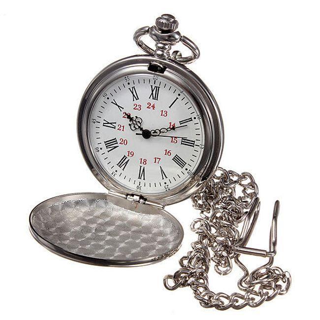 Стильные карманные часы на цепочке 1