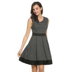 Retro sukienka w grochy - 2 kolory