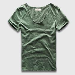 Pánské Basic triko s výstřihem - více barev