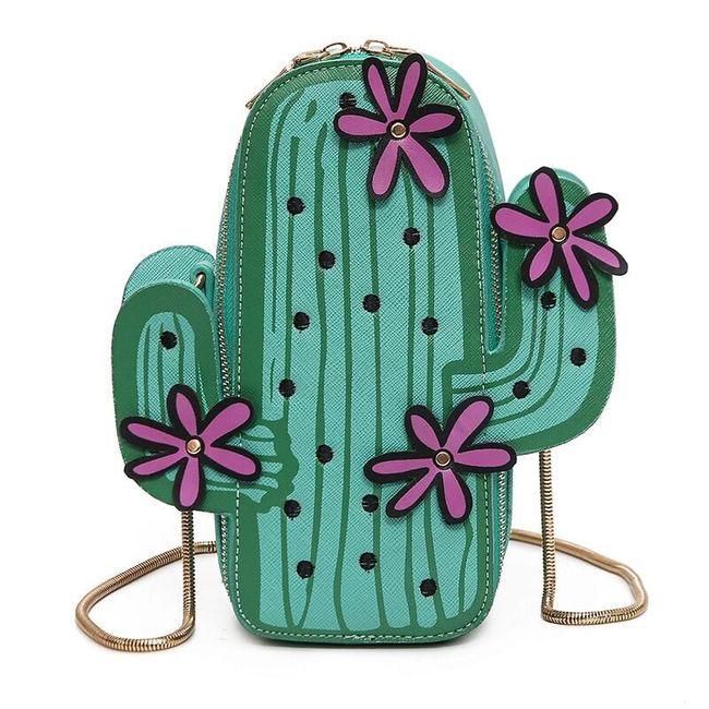 Kabelka - kaktus 1