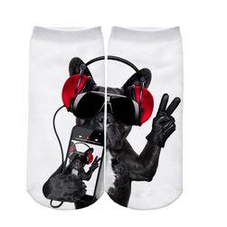 Čarape sa različitim motivima - 21 varijanta