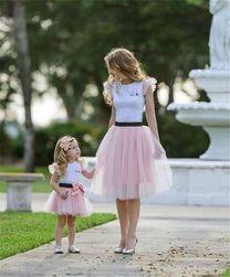 Ruha készlet anya és lánya