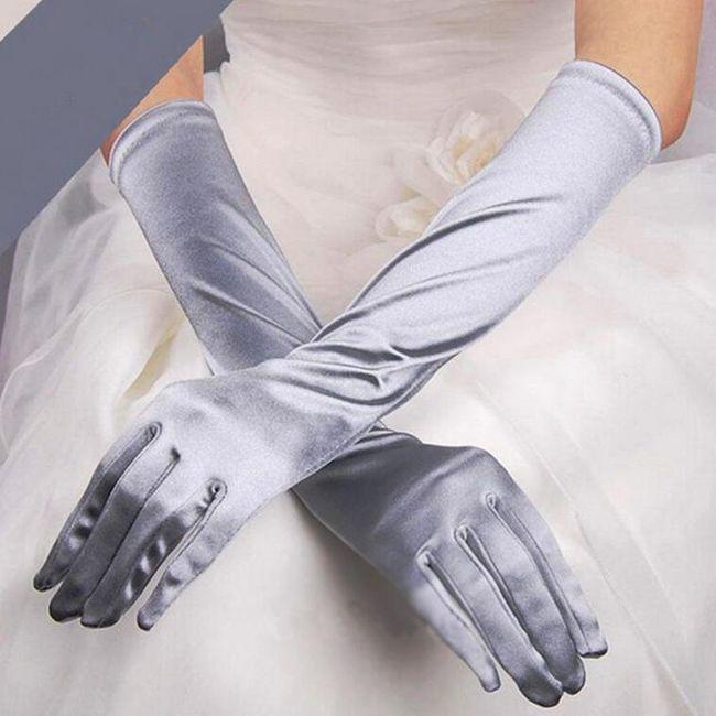 Ženske dolge rokavice - 5 barv 1