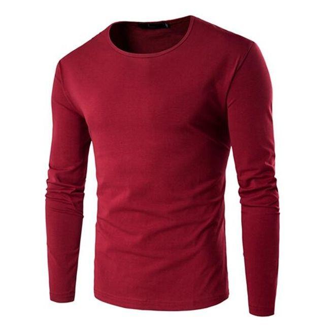 Pánské tričko s dlouhým rukávem - 5 barev 1