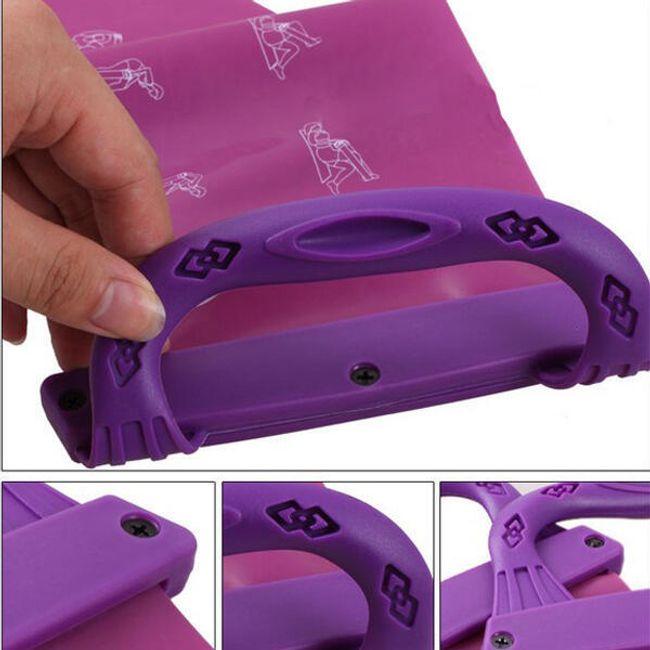 Posilovací guma s úchyty - ve 2 barvách 1