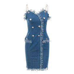 Дънкова рокля Karoly Размер 4
