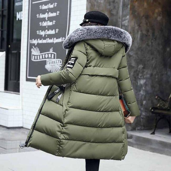 Dugačka zimska jakna Agnes - 5 boja 1