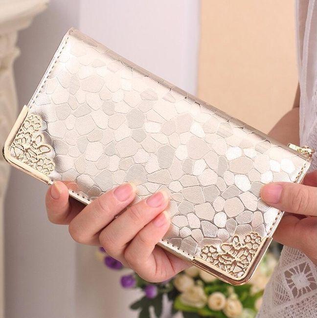 Lüks tasarımlı bayan cüzdan 1